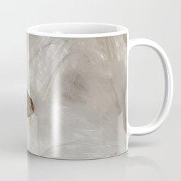 Milkweed seed and silk from the garden (vertical) Coffee Mug