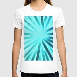 Intersecting-Aqua T-shirt