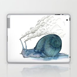 Escargot fumant Laptop & iPad Skin