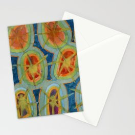 Radiant Circles Stationery Cards