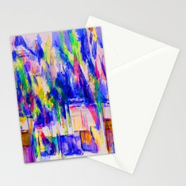 Paul Cezanne Garden at Les Lauves Stationery Cards
