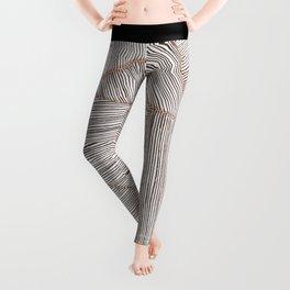 Blushed Lines Leggings