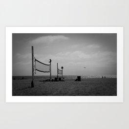 Hermosa Beach Dayz Art Print