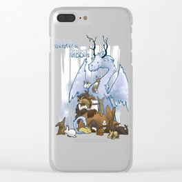 Hoard of rabbits Clear iPhone Case