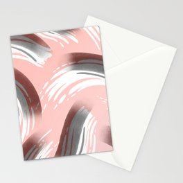 Pink Party Pattern Stationery Cards