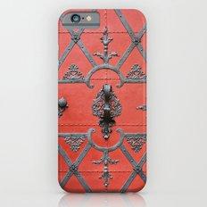 Red Door - Prague, Czech Republic Slim Case iPhone 6s