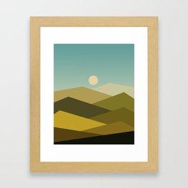Landscape NC 02 Framed Art Print