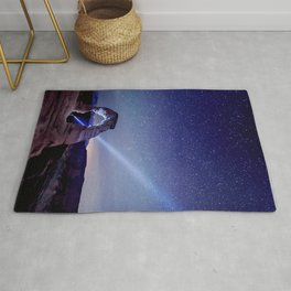 Starry Night Pointer at Delicate Arch Utah Rug