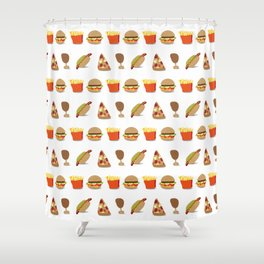 Fastfood Shower Curtain