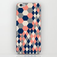 Honeycomb 2 iPhone & iPod Skin