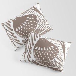California Quail (Cocoa) Pillow Sham