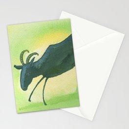 Capricorn Zodiac Horoscope Painting Stationery Cards