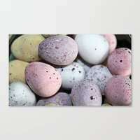 eggs Canvas Prints featuring Eggs! by Sara Messenger
