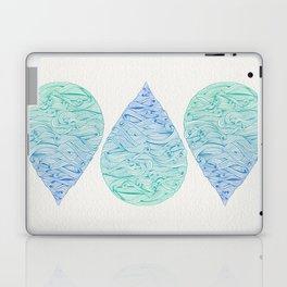 Ombré Droplet Laptop & iPad Skin
