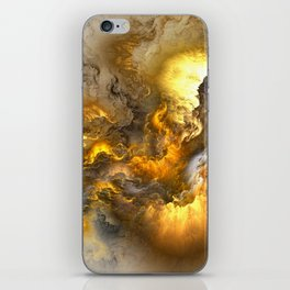 Unreal Stormy Heaven iPhone Skin