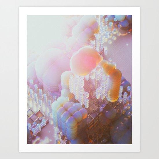 BRIGHT SIDE (everyday 11.10.16) Art Print
