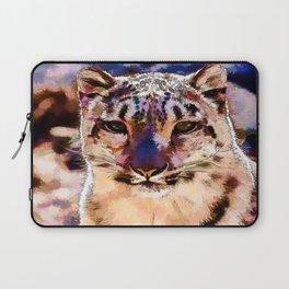 Snow Leopard  Laptop Sleeve