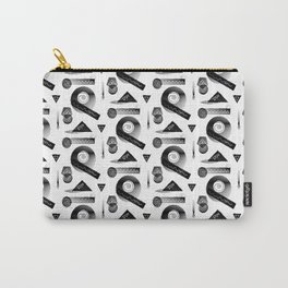 Geometrica, Black & White Carry-All Pouch