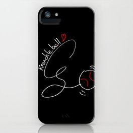 Knuckleball iPhone Case