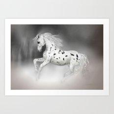 HORSE - Appaloosa Art Print