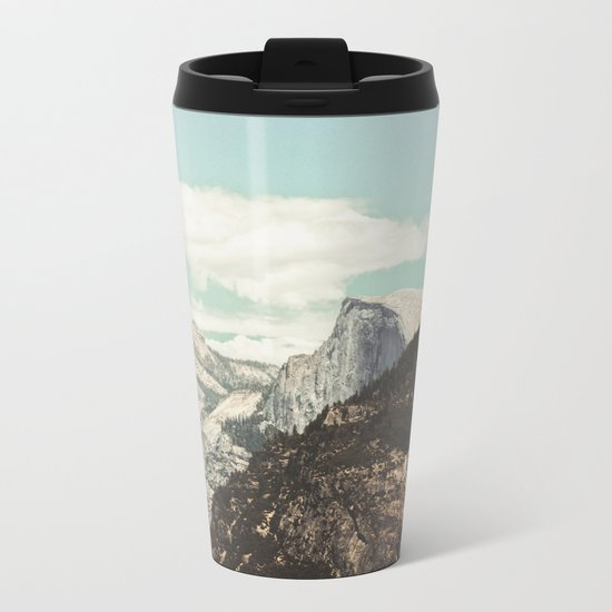 Half Dome Peek Metal Travel Mug