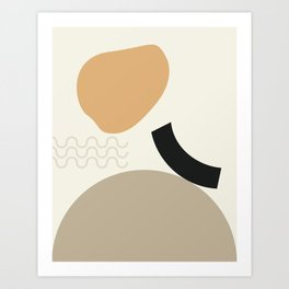 // Shape study #24 Art Print