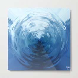 Spheres of the Deep - Orb One Metal Print