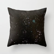 Southern Constellations (Process) Throw Pillow
