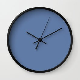 Behr Miracle Elixir (Blue) M540-6 Solid Color Wall Clock