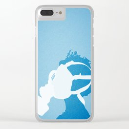 Royal Nose + Lost Time Clear iPhone Case