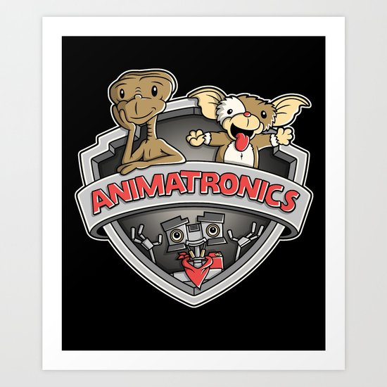 Animatronics Art Print
