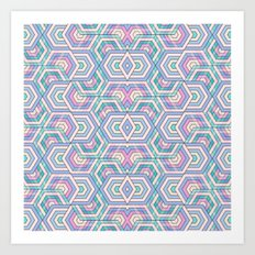 Geo Pattern Art Print
