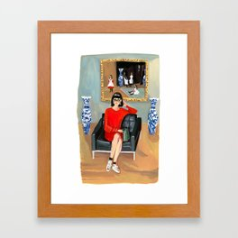 Sargent Girl, All Grown Up Framed Art Print