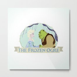 The Frozen Ogre Metal Print