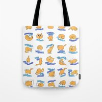 CAT MOVES Tote Bag