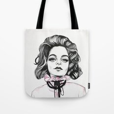 Girls in Pink Garments b Tote Bag