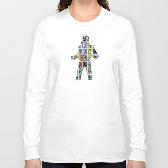 Cut StarWars Collage 5 Long Sleeve T-shirt