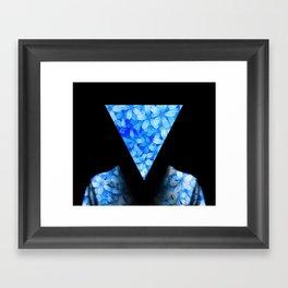 Man in Nature Framed Art Print