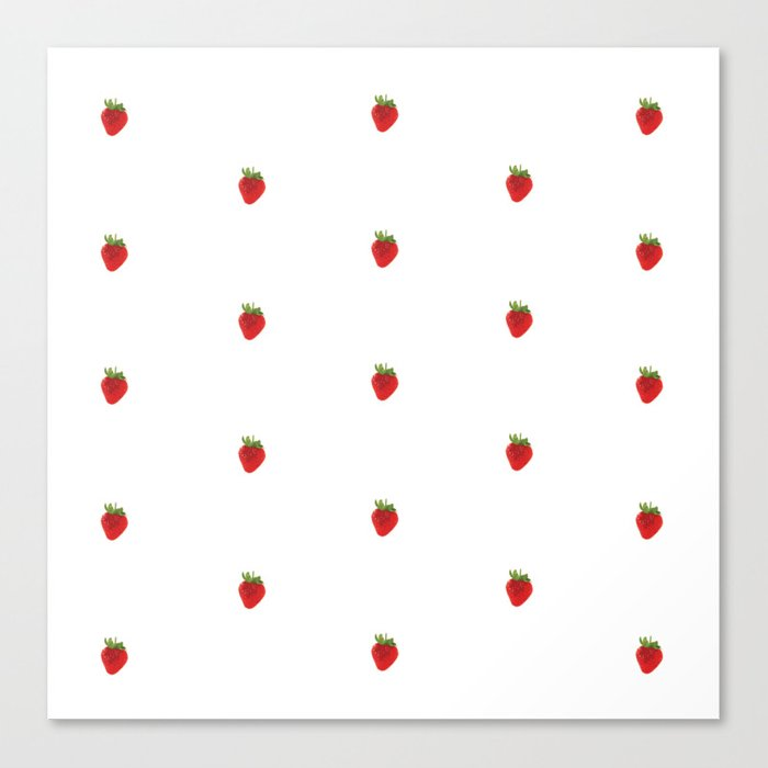 Earth Berry Canvas Print