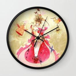 Cocon Ailé Wall Clock