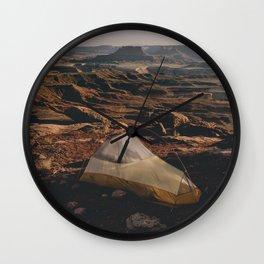 Camp Canyonlands Wall Clock
