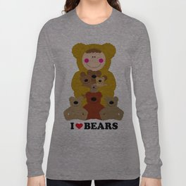 I♥BEARS Long Sleeve T-shirt