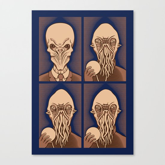 Ood One Out - Silent Canvas Print