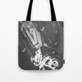 Stereo Type Tote Bag