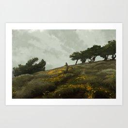 wind rises Art Print