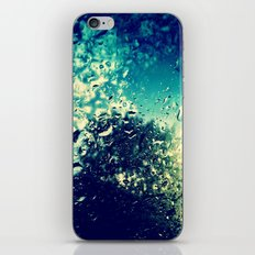 Raindrops  iPhone & iPod Skin