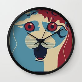 ✩ The OMG Cat Poster Wall Clock