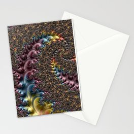 feather fern Stationery Cards
