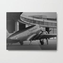 Rosinenbomber at Tempelhof Flughafen, Berlin 2008 Metal Print
