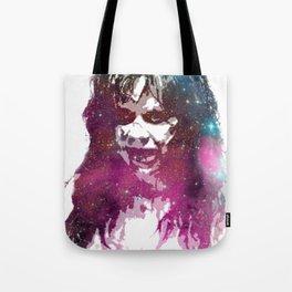 Galaxy Linda Blair Regan MacNeil The Exorcist Tote Bag